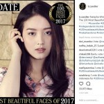 Wow, 4 Artis Indonesia Masuk Daftar The 100 Most Beautiful Faces of 2017