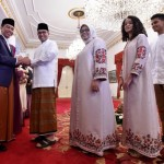Presiden Jokowi Open House, Anies-Sandi Hingga Agus-Ibas Bersilaturahmi