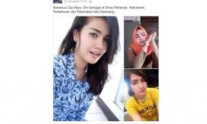 Oza Moza dinilai mirip Miyabi (Facebook)