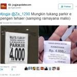 PARKIR MALIOBORO : Jelang Lebaran, Sekali Parkir di Samping Ramayana Rp4.000