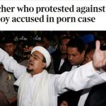 Habib Rizieq Tersandung Kasus, Media Inggris Sindir Aksi Protes Majalah Playboy