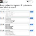 Pencarian mahasiswa universitas populer (Twitter)