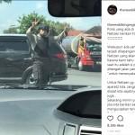 TRENDING SOSMED : Bentak Pengguna Jalan, Polisi Solo Ini Malah Banjir Pujian