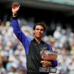 Raih La Decima Prancis Open, Nadal Naik ke Peringkat 2 Dunia