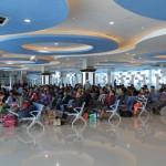 LEBARAN 2017 : Fasilitas Mirip Bandara Sambut Penumpang Mudik Gratis Pelindo III