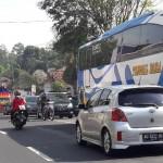 MUDIK LEBARAN 2017 : Macet, Antrean Kendaraan 3 Kilometer di Jalur Ampel sampai Sruwen
