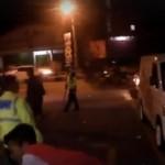 BALAP LIAR SEMARANG : Polisi Bubarkan Trek-Trekan, Ini Video Serunya…