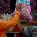 INFLASI JATENG : Bawang Putih Sumbang Inflasi Tertinggi