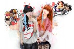 Ilustrasi fangirl (polyvoreimage.com)