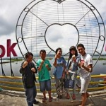 Gembok Cinta di Bukit Cinta, tepi Danau Rawa Pening, Desa Kebondowo, Kecamatan Banyubiru, Kabupaten Semarang, Jateng. (Facebook.com-Yonas Boyke)