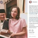 Ultah Ke-81, Pak Habibie dapat Kejutan Spesial dari Chelsea Islan