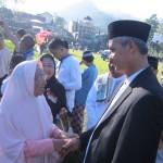 LEBARAN 2017 : Gubernur Ganjar Pranowo Salat Id di Tawangmangu Karanganyar