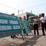 LEBARAN 2017 : Antisipasi Kemacetan Saat Mudik, 96 Rambu Dipasang di Sragen