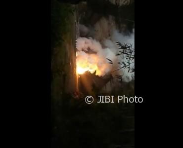 Video ledakan di Desa Gemeksekti, Kebumen. (Youtube)