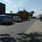 MUDIK LEBARAN 2017 : H-1, Jalur Saradan Madiun Padat Kendaraan Tapi Lancar