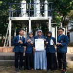 KAMPUS DI SEMARANG : Mahasiswa Undip Sulap Sekam Jadi Etanol