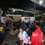 LEBARAN 2017 : Ribuan Perantau Peserta Mudik Gratis Tiba di Wonogiri