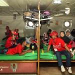 Foto Mudik 2017 Bermotor Nyaman di Kapal