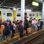 Stasiun Balapan Solo Diserbu Warga yang Ingin Berlibur ke Jogja