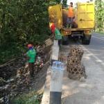 PENGELOLAAN SAMPAH WONOGIRI : Warga Nekat Buang Sampah di Tepi Jalan, Ini Akibatnya
