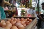 KOMODITAS PANGAN : Pertengahan Ramadan, Harga Telur di Pasar Solo Berangsur Naik