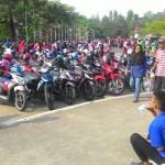 PUNGLI SOLO : Pengelola Parkir Sunday Market Manahan Ancam Beri Sanksi Jukir Nakal