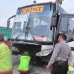 KECELAKAAN KARANGANYAR : Sopir Bus Eka Tabrak 2 Pengendara Motor Jadi Tersangka