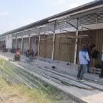 PASAR TRADISIONAL KARANGANYAR : Kanopi Ambruk, Pedagang Pasar Nglano Resah