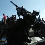Warga Madiun Disuguhi Pameran Alutsista saat Peringatan HUT ke-72 TNI