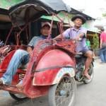 KISAH INSPIRATIF : Kerja Keras Antarkan Tukang Becak di Klaten Ini Naik Haji