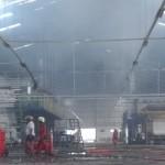 KEBAKARAN KLATEN : Mesin Printing Pabrik Tekstil Terbakar, 2 Orang Terluka