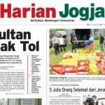 HARIAN JOGJA HARI INI : Sultan Tolak Jalan Tol