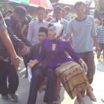 "PILKADES BOYOLALI : Menang Tipis, Cakades Giriroto Diarak Naik ""Celeng"""