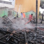 KEBAKARAN KARANGANYAR : Wedangan Ghasebo Tasikmadu Terbakar, Kerugian Ditaksir Rp50 Juta