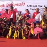 HARI ANAK NASIONAL : Pocil Wonogiri Hibur Presiden Jokowi di Riau