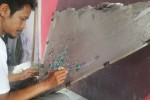 Lukisan Tangan Warga Solo Ini  Laris di Eropa