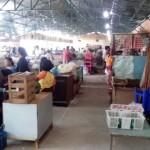 PASAR TRADISIONAL SOLO : Pengunjung Kios Darurat Pasar Sangkrah Dilarang Merokok, Ini Alasannya