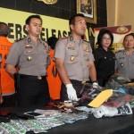 KRIMINALITAS SRAGEN : Sepekan, Polres Ungkap 5 Kasus Pidana dan Bekuk 9 Tersangka