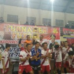 Tim Futsal Polres Blitar Boyong Piala Kapolres Ponorogo Cup 2017
