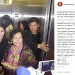 Fans Emak-Emak Nekat Minta Selfie, Reaksi Anggun Bikin Kagum