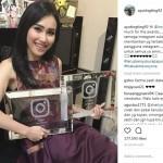 Dapat Penghargaan dari Instagram, Ayu Ting Ting Malah Dicibir