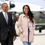 Barack Obama bersama Malia Obama (Nbcnews.com)