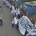 PEMBUBARAN ORMAS : Polisi Larang Massa HTI Demo