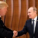 Donald Trump dan Vladimir Putin (Reuters)
