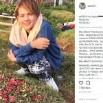 INSTAGRAM ARTIS : Evelin Ziarah ke Makam Anaknya, Reaksi Aming Bikin Adem