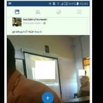 Foto bocah SMA menonton video porno di kelas (Facebook)