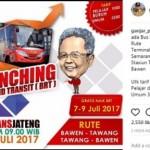 TRANSPORTASI JATENG : Ongkos Naik BRT Trans Jateng Cuma Rp1.000, Ini Syaratnya…