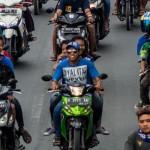LALU LINTAS SEMARANG : Lagi, Suporter PSIS Dikeluhkan Warganet