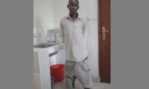 Forence Owiti Opiyo akhirnya menjalani operasi pengecilan kemaluan. (Istimewa)