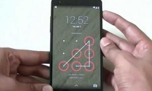 Ilustrasi pattern di smartphone (Youtube)